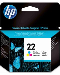 HP C9352A, HP 22 3-väri 5ml Original mustekasetti