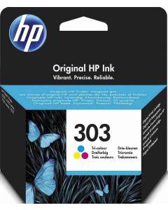 HP T6N01AE HP 303 3-väri 4ml 165 sivua Original mustekasetti