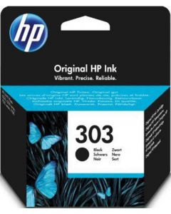 HP T6N02AE HP 303 musta 4ml 200 sivua Original Mustekasetti.com