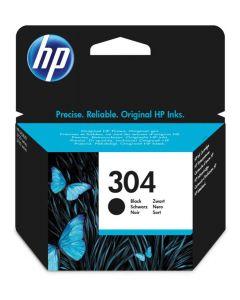HP N9K06AE#UUS, HP 304 musta 3,5ml 120 sivua Original mustekasetti