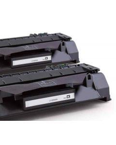 HP CE505A musta 2700 sivua x 2 kpl Mustekasetti.com