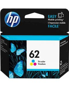 HP C2P06AE No 62 3-väri 165 sivua sivua Original mustekasetti