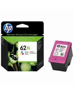 HP C2P07AE No 62XL 3-väri 415 sivua mustekasetti