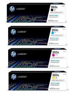 HP 203X, CF540X, CF541X, CF542X, CF543X CMYK 4-väri Original