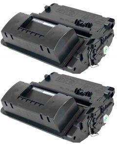 HP CF281X musta 25000 sivua x 2 = 50.000 sivua Mustekasetti.com