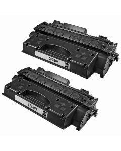 HP CF280XD musta 6900 sivua x 2 kpl Mustekasetti.com