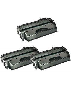 HP CF280XD musta 6900 sivua x 3 = 20700 sivua Mustekasetti.com