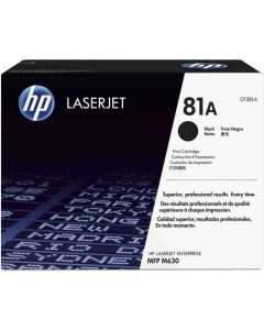 HP CF281A musta 10500 sivua Original mustekasetti