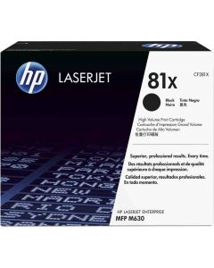 HP CF281X musta 25000 sivua Original mustekasetti