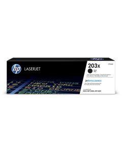 HP CF540X musta 3200 sivua mustekasetti Original