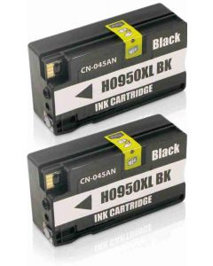 HP CN045AE No 950XL musta 80ml x2 kpl Mustekasetti.com