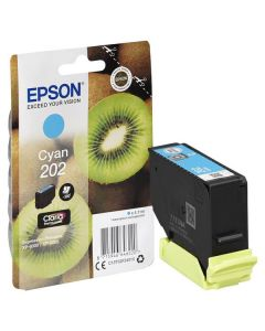 Epson C13T02F24010, 202, T02F2syaani mustekasetti 4,1ml Original