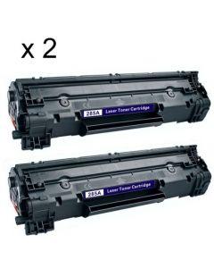 HP CB436A Jumbo 3000 sivua x 2 kpl = 6000 sivua Mustekasetti.com