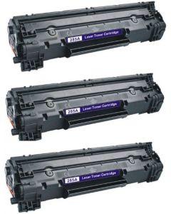 HP CB436A Jumbo 3000 sivua x 3 kpl = 9000 sivua Mustekasetti.com