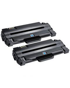Samsung MLT-D1052S, ML1910 musta 2500 sivua +66% x2 kpl Mustekasetti.com