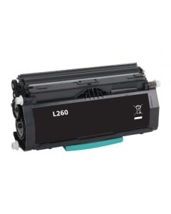 Lexmark E260A11E, musta 3500 sivua Mustekasetti.com