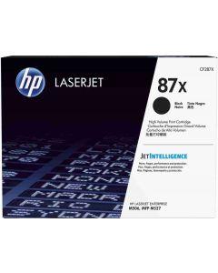 HP CF287X musta 18000 sivua Original mustekasetti