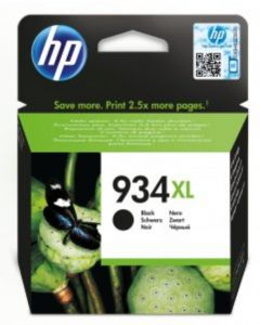 HP C2P23AE No 934XL musta 1000 sivua Original mustekasetti