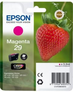 Epson C13T29834010 magenta 3,2ml Original mustekasetti