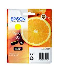 Epson C13T33444010 keltainen 4,5ml Original mustekasetti