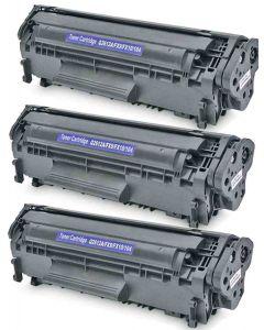 HP Q2612A musta 3000 sivua x 3 = 9000 sivua Mustekasetti.com
