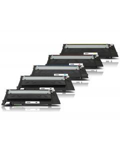 Samsung CLT-P406C 5-pakkaus CMYKK Mustekasetti.com
