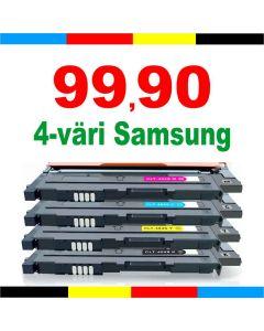 Samsung CLT-P404C 4-pakkaus CMYK Mustekasetti.com