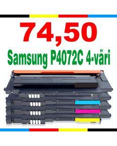 Samsung CLT-P4072C 4-pakkaus CMYK Mustekasetti.com