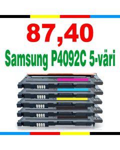 Samsung CLT-P4092C 5-pakkaus CMYKK Mustekasetti.com
