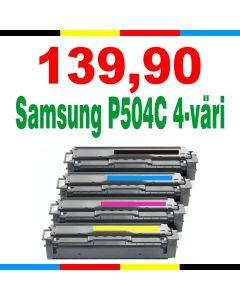 Samsung CLT-P504C 4-pakkaus CMYK Mustekasetti.com