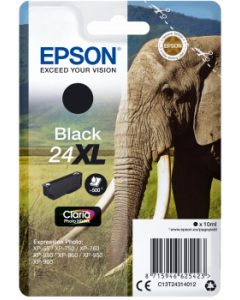 Epson C13T24314012, T24XL musta 10ml Original