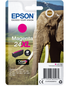 Epson C13T24334012, T24XL magenta 8,7ml Original