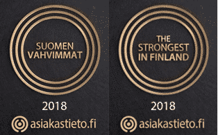 The strongest companies in Finland 2018 Suomen Vahvimmat